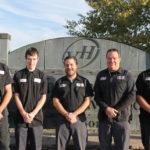 Van Handel Auto team